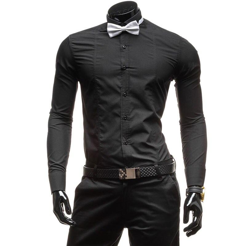 7ddcc93d8ee21 Black Dress Shirt Bow Tie – Little Black Dress | Black Lace ...
