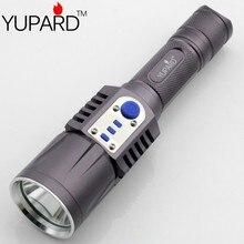 Yupard XM-L2 фонарик USB зарядка 5 режимов мобильных устройств 18650 интеллектуальное зарядное фонарик