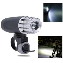 USB Rechargeable 4 Modes MTB Bike Front Light 200LM Road Bicycle Headlight Water Resistant Front Lamp Flashlight Warning Light
