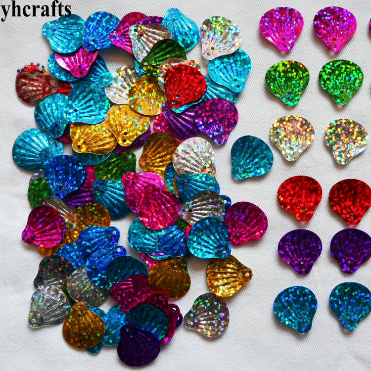 20gram/Lot 12mmShell Sequins.Craft Material Kindergarten Arts And Crafts DIY Toy Intelligence Creative Activity Item Handy Work