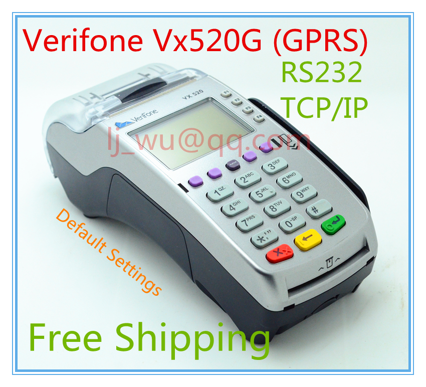 Verifone Used Vx520G IP/ETH/Dial-up POS Terminals