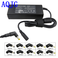 Universal 90W 15 20V AC DC Charger Converter 4.5A 6A Port With 10Pcs jack connector Adaptor Power Adapter Universal Charger