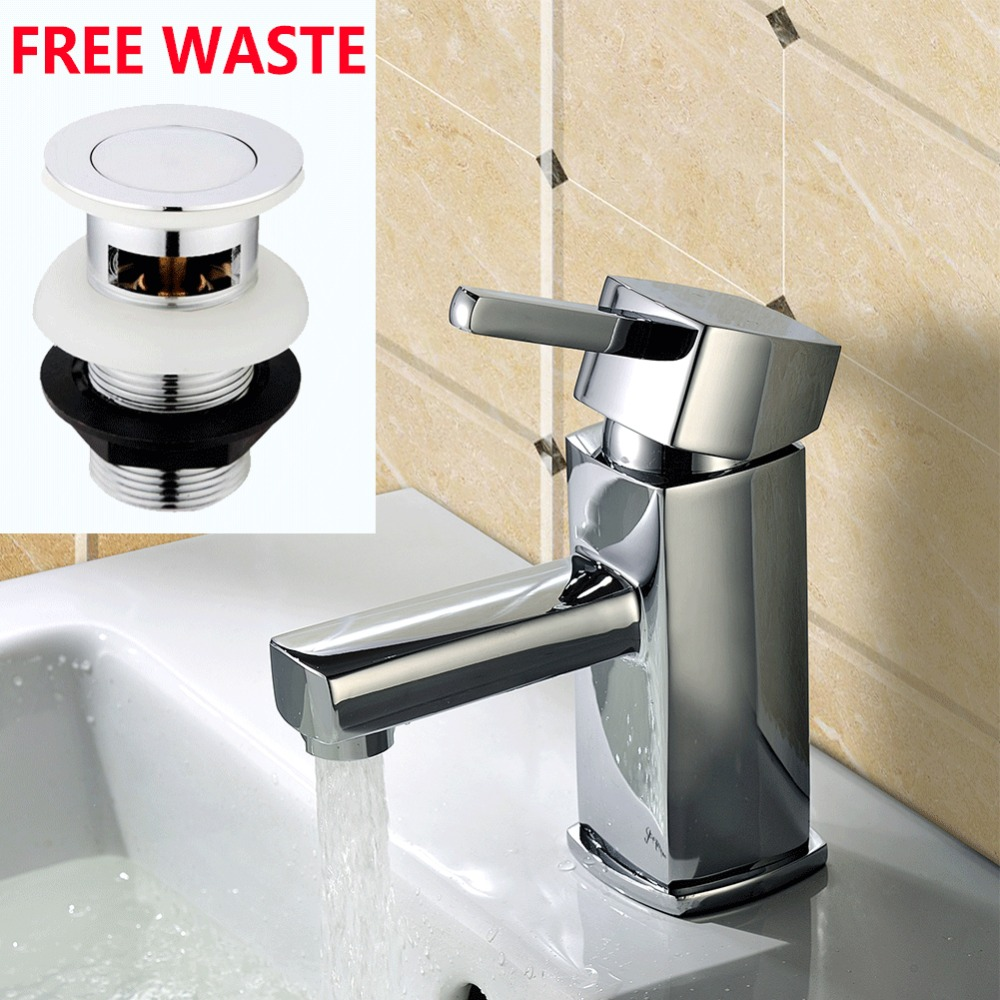 Micoe Basin Faucet Bathroom Deck Mounted Ceramic Plate Spool Faucet Contemporary Waterfall Made Cold And Hot Water Basin Fauce