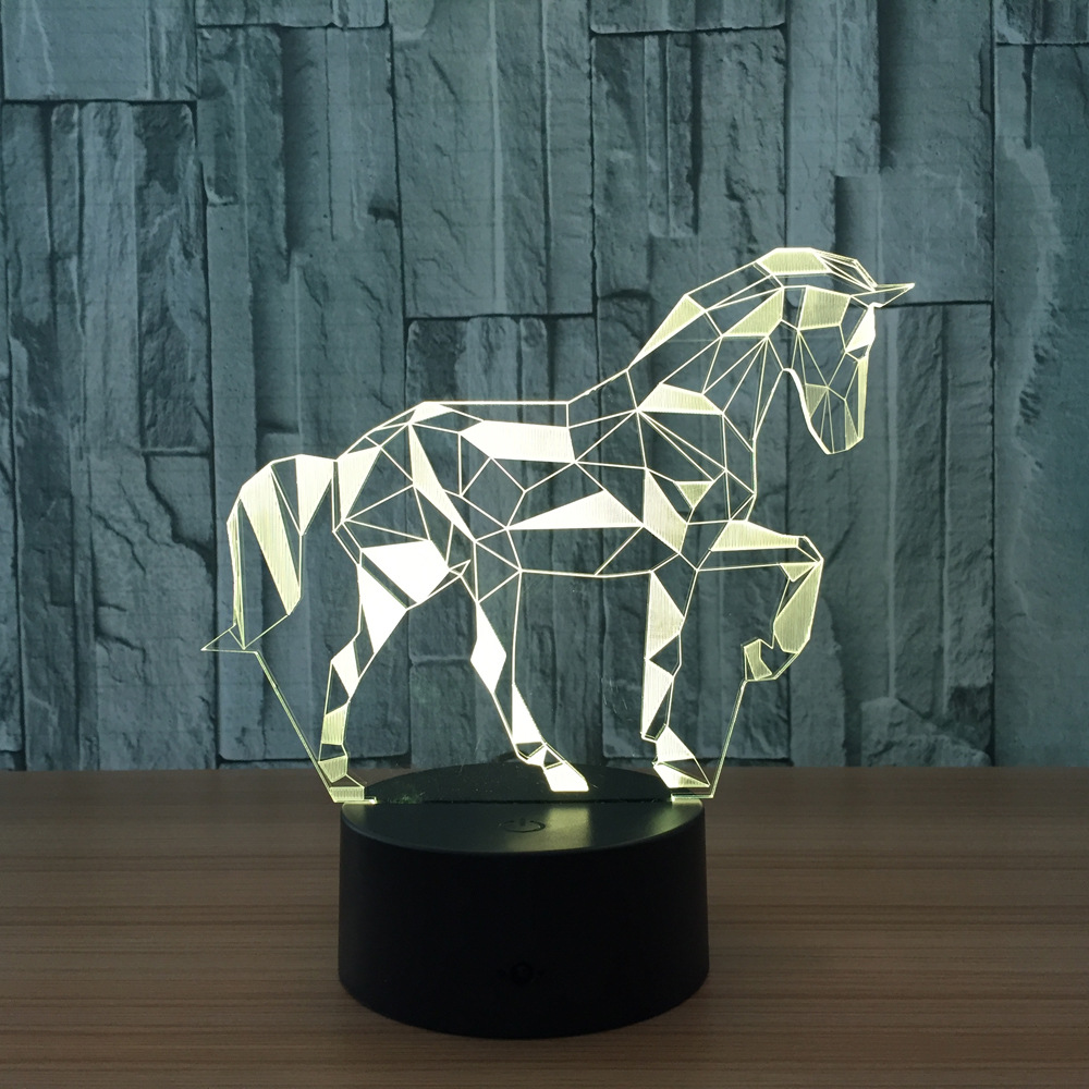 Horse 3d lamp VIP Drop Shipping Pls Contact us Before Buying