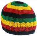 Ямайский Rasta hat Боба Марли шляпа Jameican hat тамс карнавальных костюмов платье Крючком rasta шапочки Gorro Bob marley cap RH-18