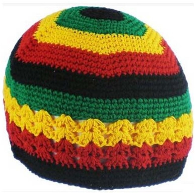 jamaican rasta hat bob marley hat jameican hat tams fancy dress