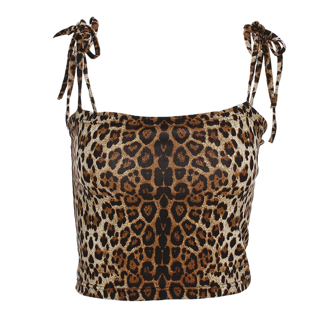 Women Summer Skinny Leopard...