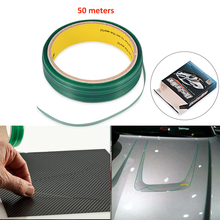 FOSHIO 50M Knifeless Tape Design Line Vinyl Wrap Car Stickers Carbon Fiber Film Wrapping Cutting Knife Styling Tools