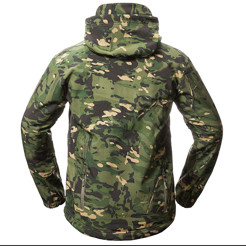 Camping & Hiking Sports & Entertainment Official Website Upgrade Men Tactical M65 Windbreaker Militray Training Clothes Male Outdoor Camping Hiking Trekking Shark Skin Soft Shell Jacket