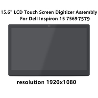 FTDLCD 15.6 2 in 1 FHD LCD Screen Touch Digitizer Replacemente Assembly For Dell Inspiron 15 7569 7579 1080P