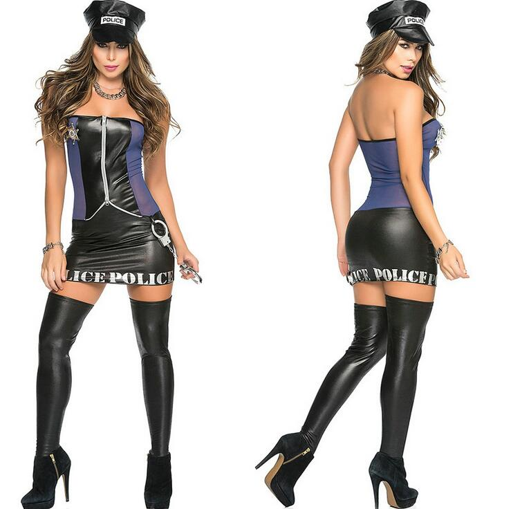 Sexy Women Police Costume Halloween Cosplay Dirty Cop Police Costumes Police Uniform Style Jumpsuits + Belt + Hat-in Game Costumes from Novelty u0026 Special ...  sc 1 st  AliExpress.com & Sexy Women Police Costume Halloween Cosplay Dirty Cop Police ...