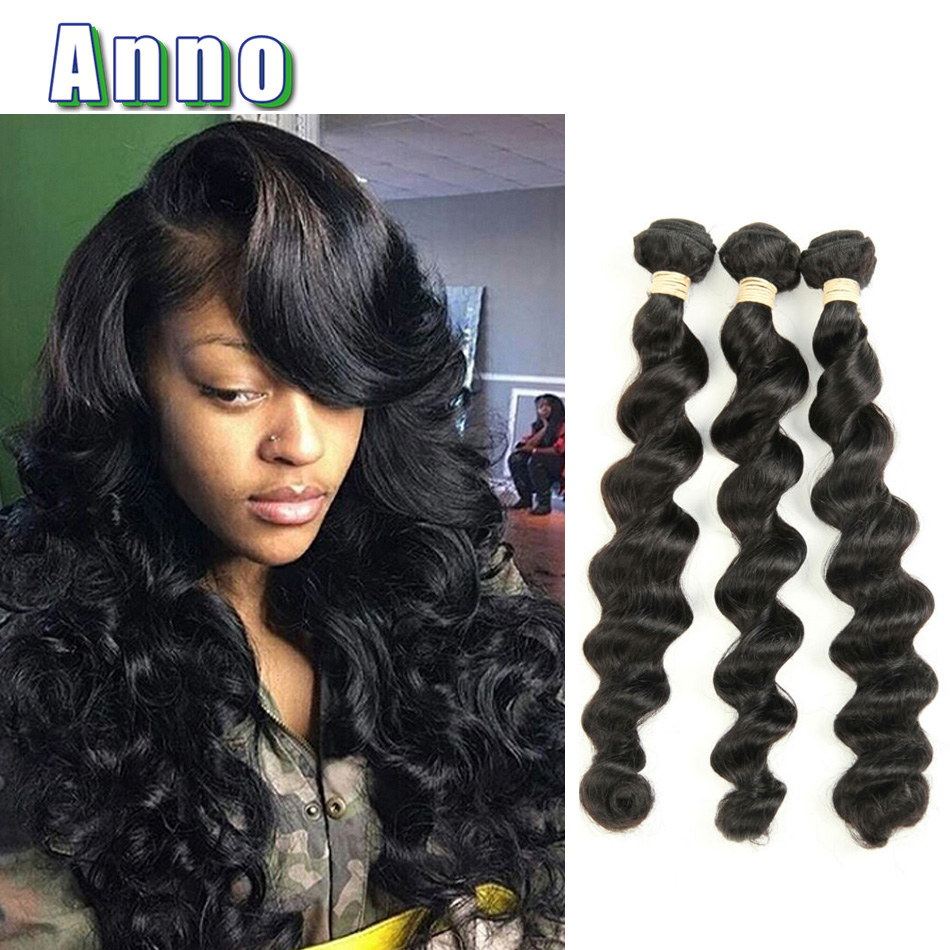 Unice Hair Company Brazilian Loose Wave Virgin Hair 3 ... - photo#14