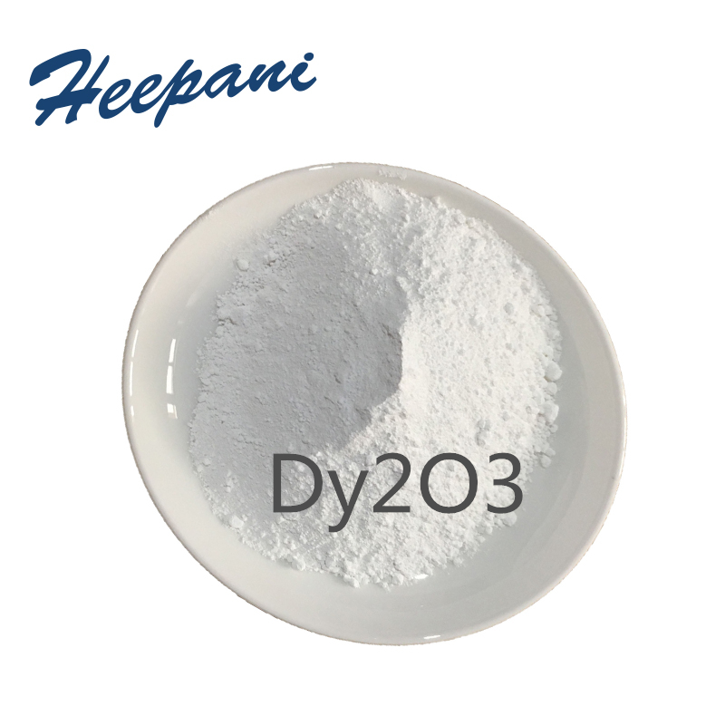 Free Shipping  99.9% Purity Nano Dysprosium Oxide Rare Earth Dy2O3 Powder