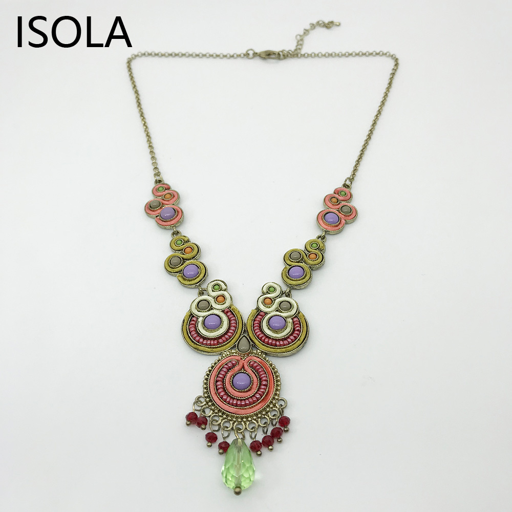 Charming Chandeliers That Make A Statement: ISOLA Statement Charming Chandelier Vintage Ethnic