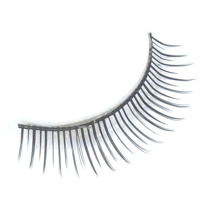 False Eyelashes A pair of natural slim fake eyelashes tapered lady bare makeup hot handmade beauty eyelashes