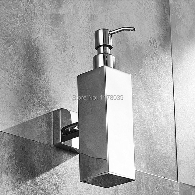 Wall Mounted Bathroom Soap Dispenserstainless Steel Soap Dispenser