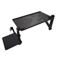 Adjustable multi functional ergonomic mobile laptop table stand for bed portable sofa folding table foldable notebook.jpg 200x200