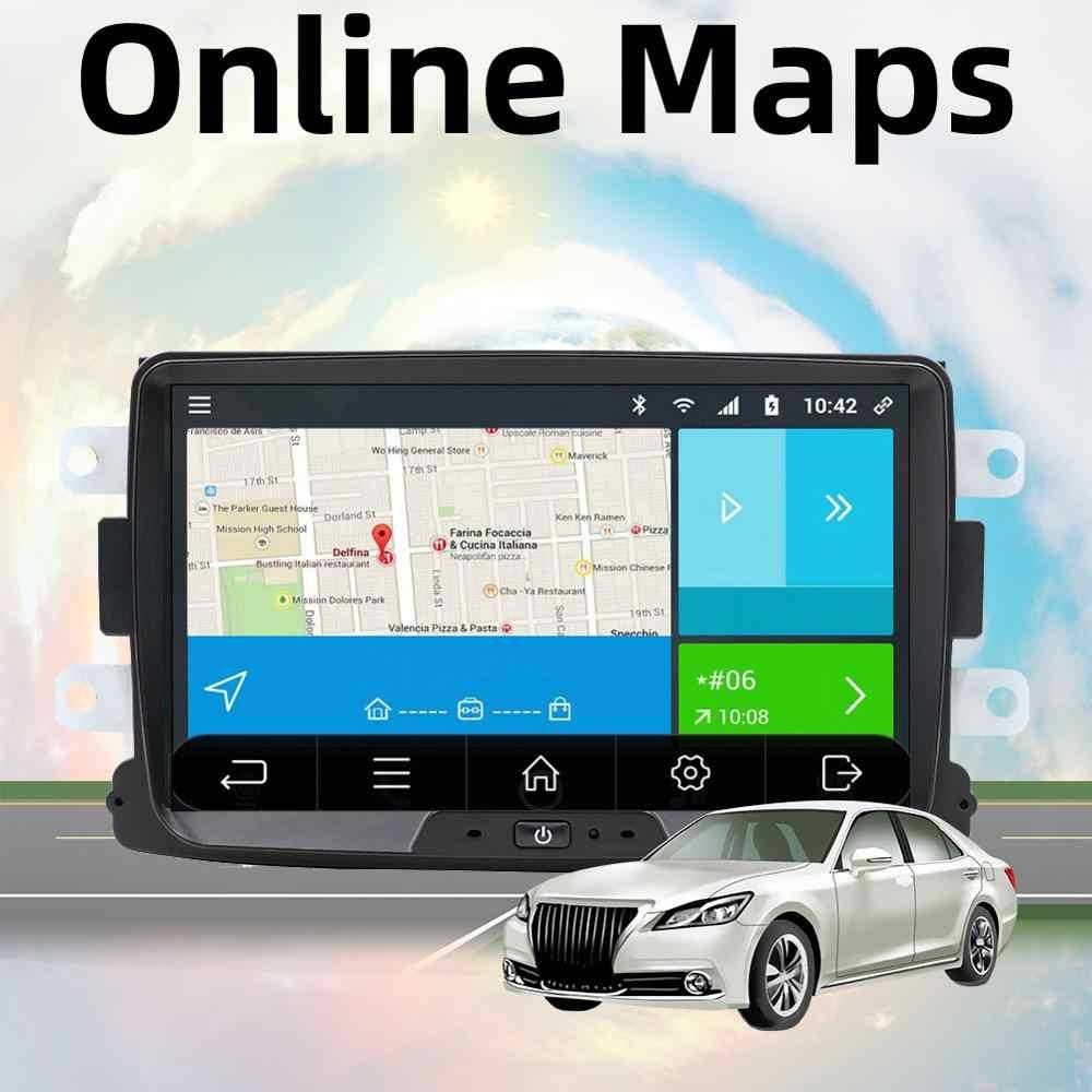 אנדרואיד 9.0 autoradio 1 דין עבור הדאסטר/Dacia/Sandero/לוגן/Captur/לאדה/Xray רכב מולטימדיה נגן מצלמה קלטת מקליט