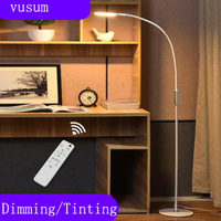 Floor lamp living room minimalist modern Nordic remote control piano lamp creative children's eye bedroom reading study lamp