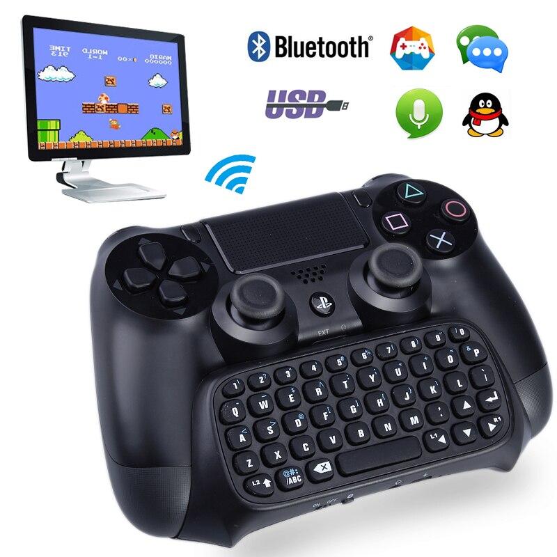 Mini Teclado Inalámbrico Bluetooth Gamepad Para Sony Playstation 4 Ps4 Controlador Gamepad Teclado Envío Directo Color Rapido