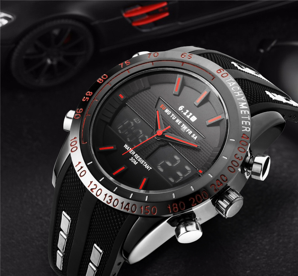 Luxury Brand Military Watch Men Quartz Analog Clock Leather Canvas Watch Man Sports Watches Army montre