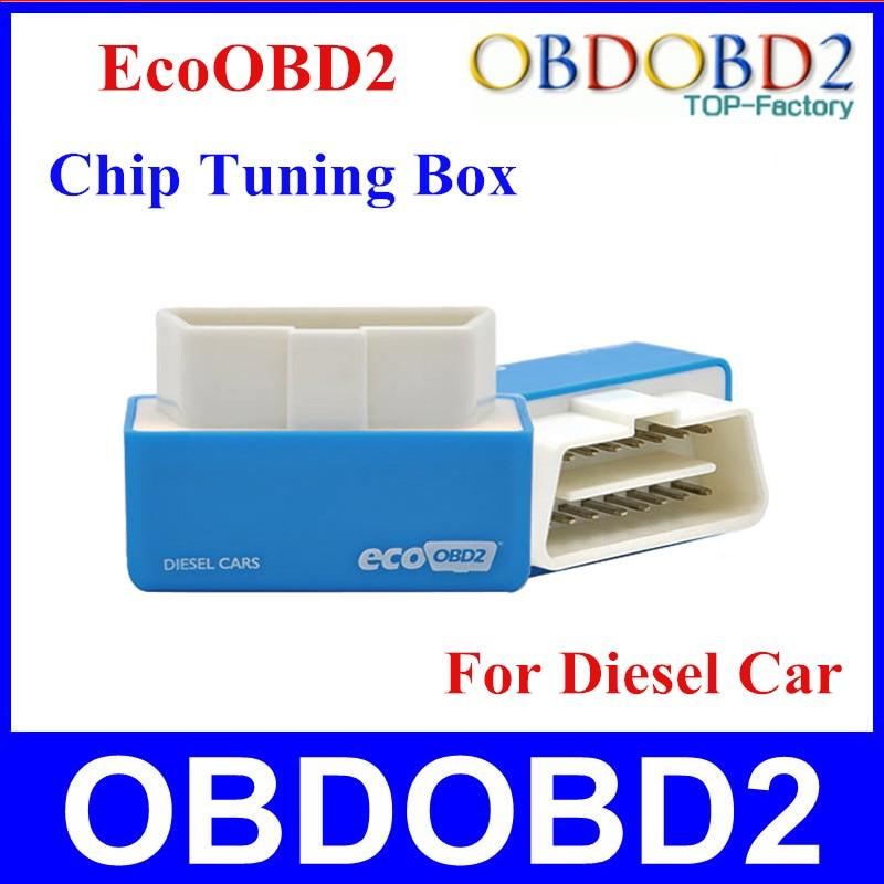 Best качество ecoobd2 для дизельных автомобилей чип тюнинг коробка Plug And Drive эко OBD2 меньше топлива и выбросов 15% топлива сохранить nirto OBD2