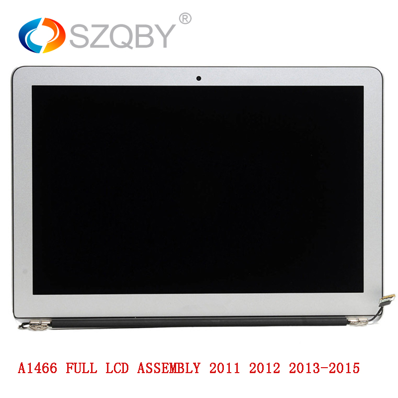 Original New for Macbook Air 12 pins A1466 LCD screen assembly 13' early 2010 2011 2012 2013 2015 661 7475 2011 2012