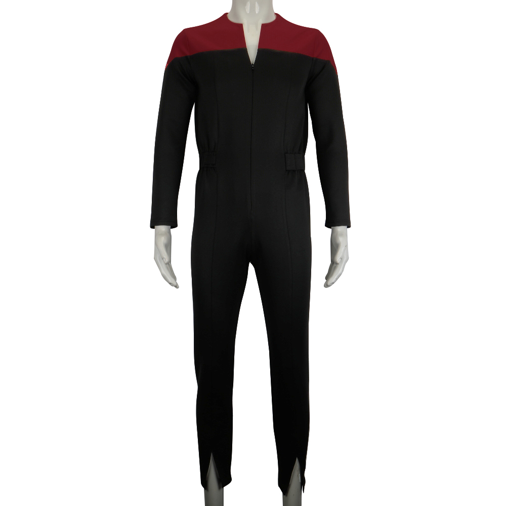 Star Deep Space Nine Trek Commander Sisko Duty Uniform Jumpsuit Cosplay Costumes Halloween Party Prop