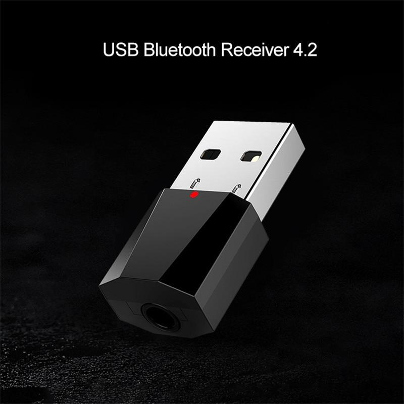 Sinnvoll Kebidu 3,5mm Audio Stereo Adapter Bluetooth4.2 Drahtlose Empfänger Usb Wireless Bluetooth Empfänger Für Auto Aux Lautsprecher Kopfhörer Novel Design; In