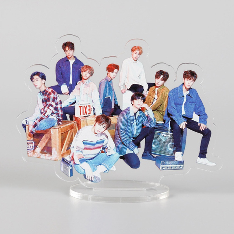 K-pop Star BLACKPINK GOT7 TXT TWICE STRAY KIDS Acrylic Stand Figure Stand Collection Gift Stationery Set