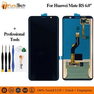 ЖК-дисплей 6,0 дюйма для Huawei Mate RS, сенсорный экран с дигитайзером в сборе для Huawei Mate RS Porsche, Замена ЖК-экрана