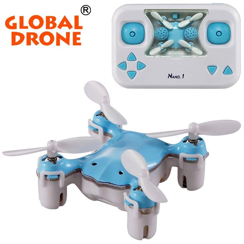 Newest Nano 1 Mini Drone Rc Quadcopter Pocket Drones 2 4G Remote control 4 5 CH