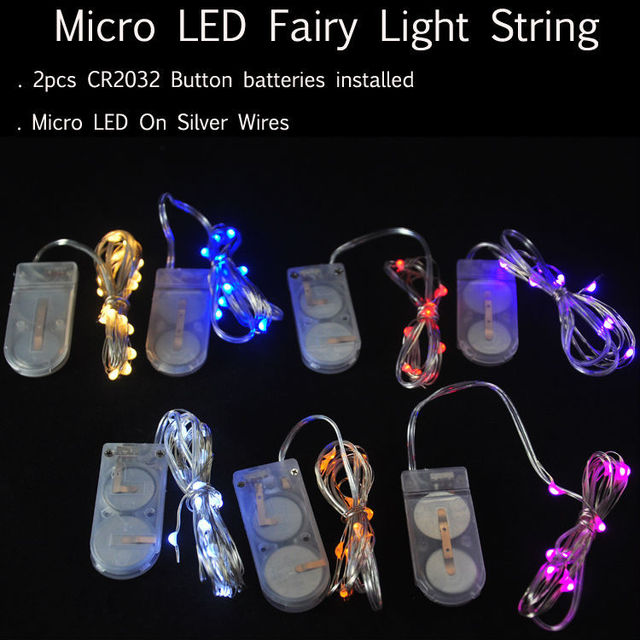100pcslot 2cr2032 small battery operated string led light 2m 20 100pcslot 2cr2032 small battery operated string led light 2m 20 tiny led lights for mozeypictures Images