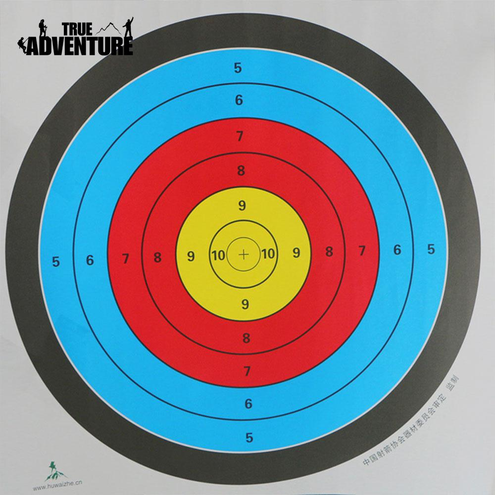 10Pcs 60*60cm Archery Targets Paper Outdoor Sports Bow Spots Arrow ...