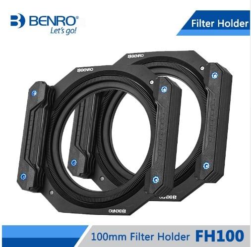 Benro FH100 100mm sistema de filtro cuadrado ND/GND/CPL soporte de filtro cuadrado filtro Circular плед arya hazel 100x120cm tr1003753