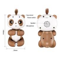 Finger Panda Cute Smart Finger Baby Monkey Interactive Finger Monkey Electronic Pets Kawaii Toys For Children