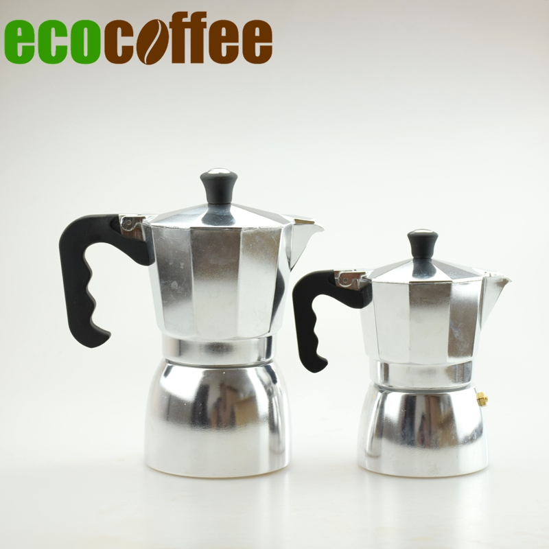 1PC Free Shipping 3/<font><b>6</b></font> <font><b>Cups</b></font> Espresso Aluminum moka pot <font><b>Classic</b></font> Coffee Mocha