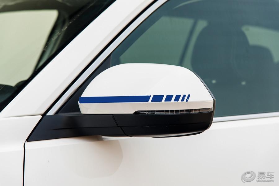 HotMeiNi Car Sticker 2sets4pcs Rearview Mirror Side Decal Stripe Vinyl Truck Vehicle Body Accessories Black/Sliver 20*0.7cm
