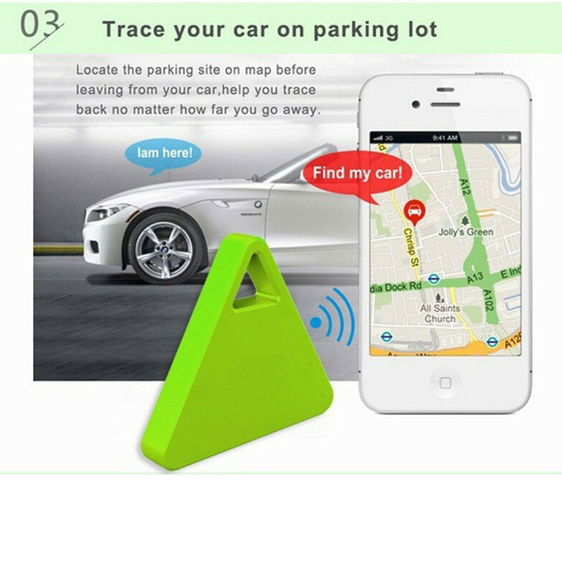 Mini Wireless Smart Bluetooth   Tracker Gps Locator Tag Alarm Anti Lost Device Gps Tracking