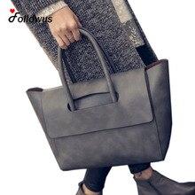 Neue Frauen Einkaufstasche Kapazität Weiblichen Casual Mode OL Geschäfts Pu-leder Handtaschen Schwarz Braun Grau