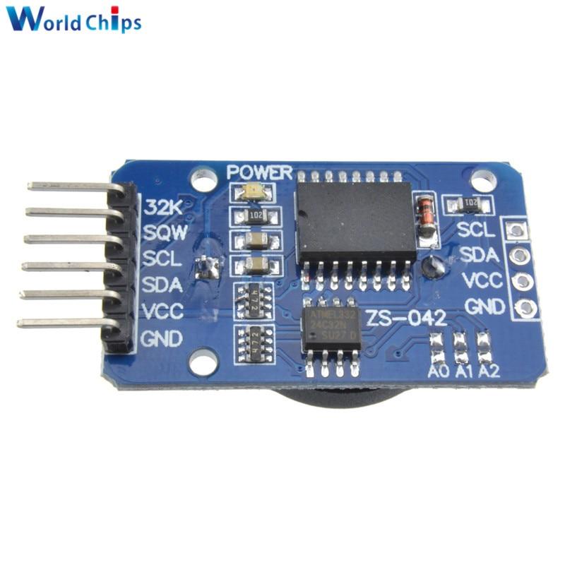 Бесплатная доставка 1 шт. DS3231 AT24C32 IIC точность RTC часы реального времени модуль памяти для Arduino новые оригинальные Заменить DS1307