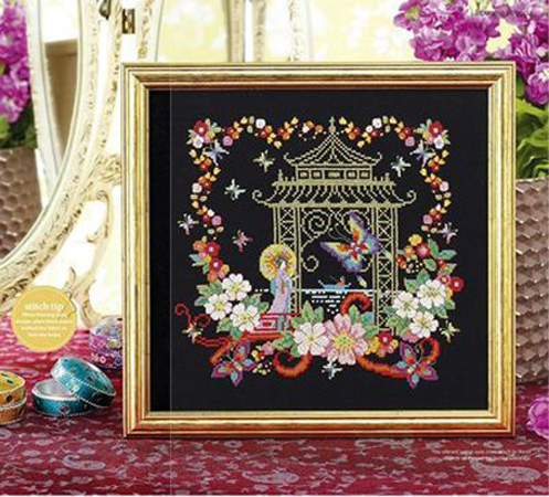 Needlework,DIY Cross Stitch,Sets For Embroidery Kits,11CT&14CT,Huating Japanese Ladies