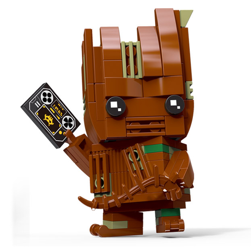 Decool Brickheadz SuperHeroes IronMan Marvel Super Heroes Superman Batman Figures Building Block Bricks legoING DC avengers Toys ir2133j