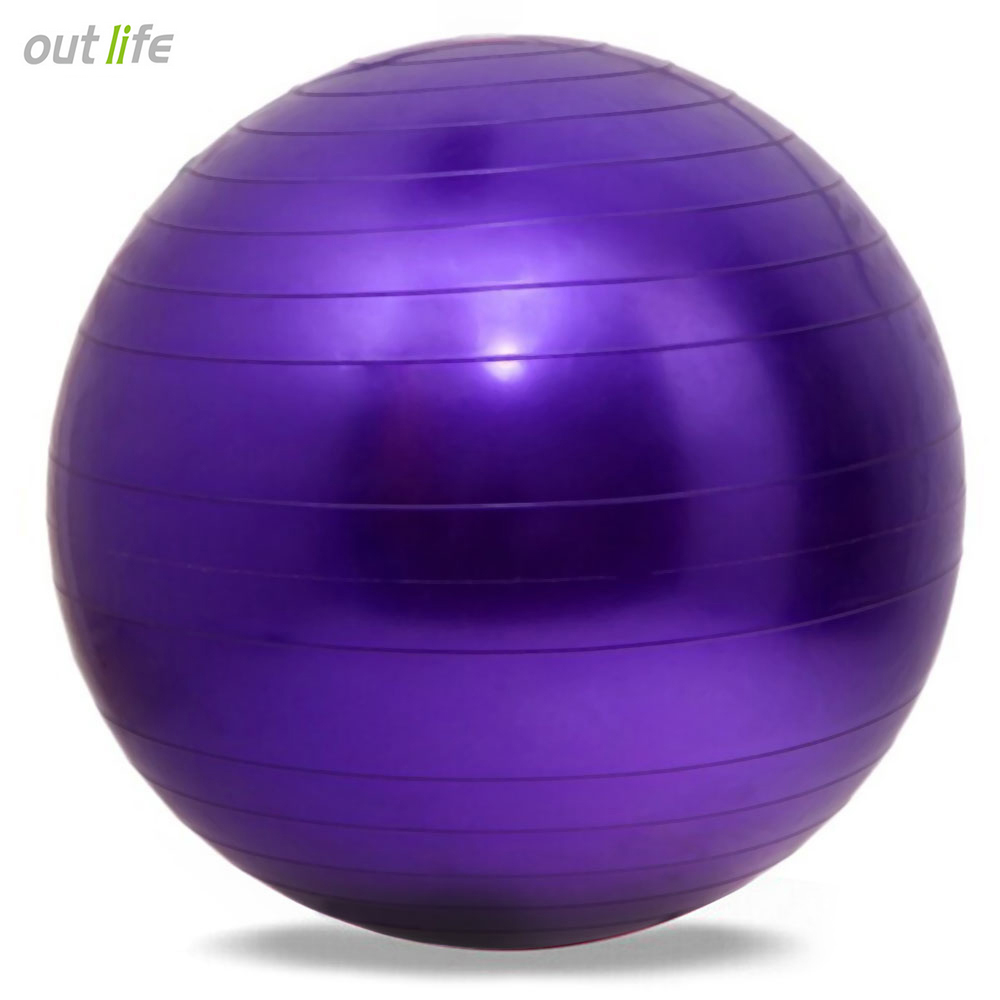 2017 New 65cm Health Fitness Yoga Ball 5 Color Utility Anti-slip Pilates Balance Yoga Balls Sport Fitball Proof for Gym Fitness flashing jumping ball outdoor fun sport toy bouncing balls for kids child sport movement ankle skip color rotating ball 5 color