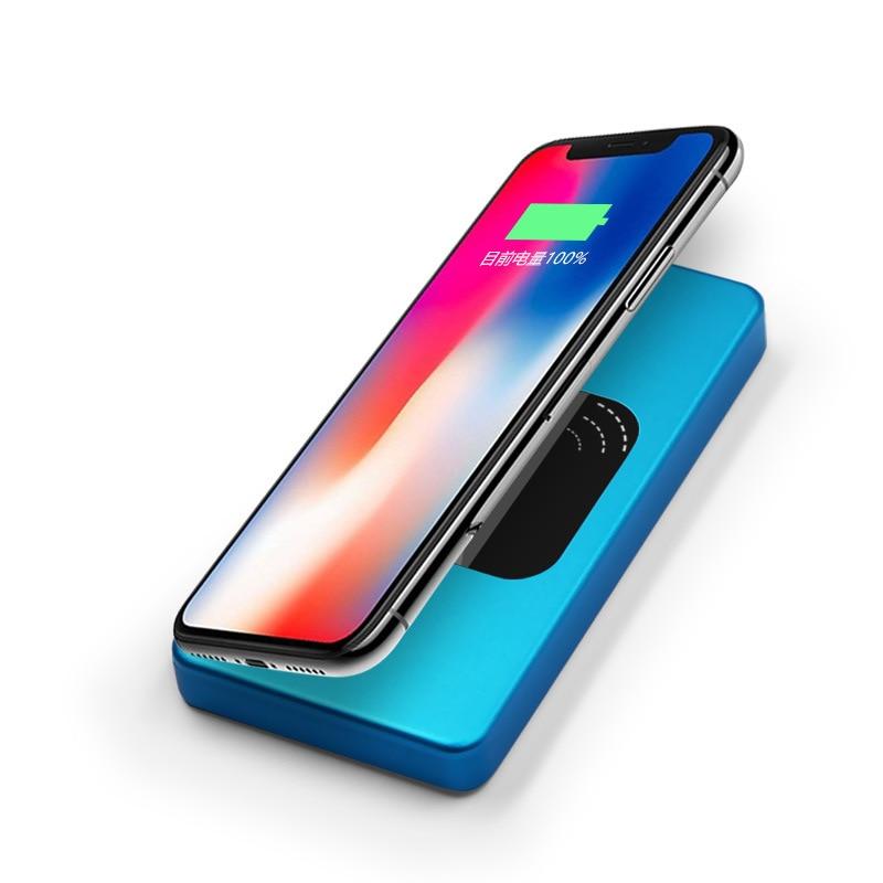 10000 mAh batterie externe sans fil PD chargeur rapide pour iPhone X XS XR MAX QC3.0 chargeur rapide batterie pour samsung S8 S910000 mAh batterie externe sans fil PD chargeur rapide pour iPhone X XS XR MAX QC3.0 chargeur rapide batterie pour samsung S8 S9