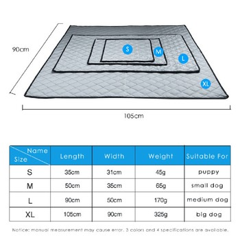 Waterproof Pet Car Seat Cushion Pet Air Permeable Blanket Sleeping Bed Thin Summer Cooling Mat for Dogs and Cats Supplies image