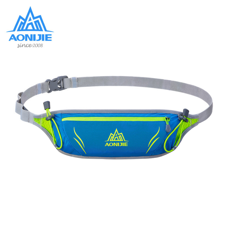 AONIJIE Multifunction Marathon Outdoor Sports Running Waist Bag Belt Yoga Pockets for Mobile Phone Gym Bags Waterproof nylon outdoor sports pockets sv012199