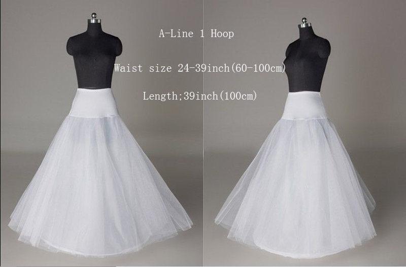 noriviiq a ligne hooped jupon crinoline vintage 1 cerceau jupon blanc jupes longues pour la robe de mariage jupon cerceau mariag - Jupon Mariage 1 Cerceau Pas Cher