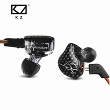 New KZ ZST Balanced Armature With Dynamic In ear Earphone BA Driver Noise Cancelling Headset With