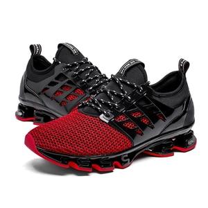 Image 5 - Big Size 36 46 Men Women Running Shoes Outdoor Breathable Jogging Sport Blade Shoes for Mens Krasovki Walking Sneakers for Men